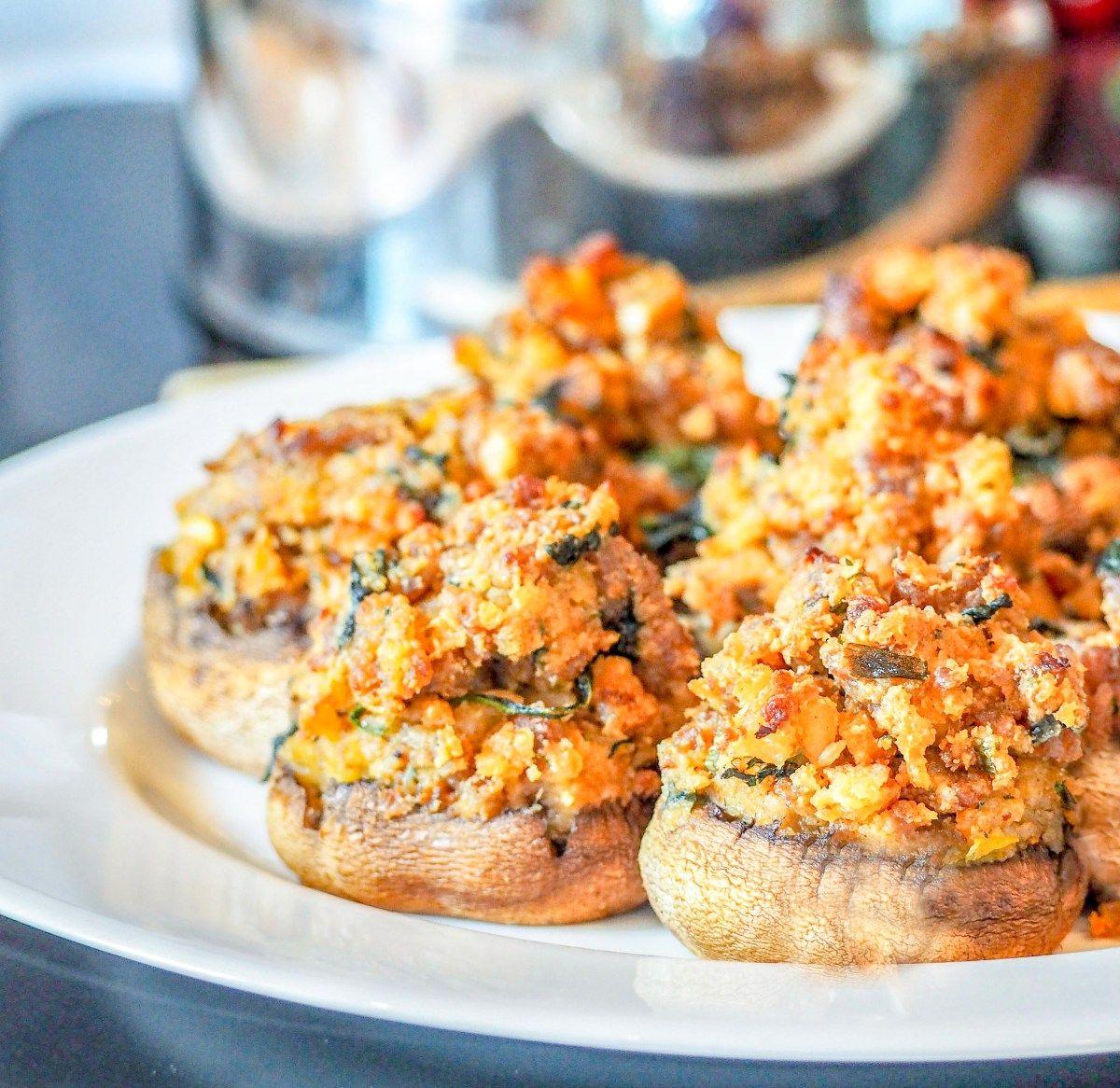 Italian sausage stuffed mushrooms recipe sausage