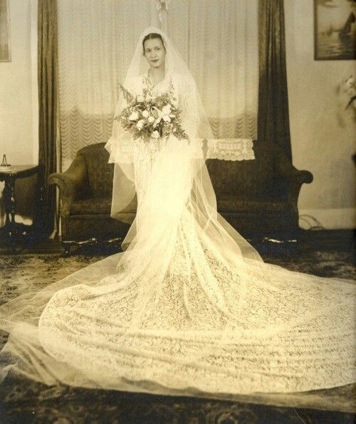 1940s wedding | The Ultimate Vogue Wedding | Pinterest