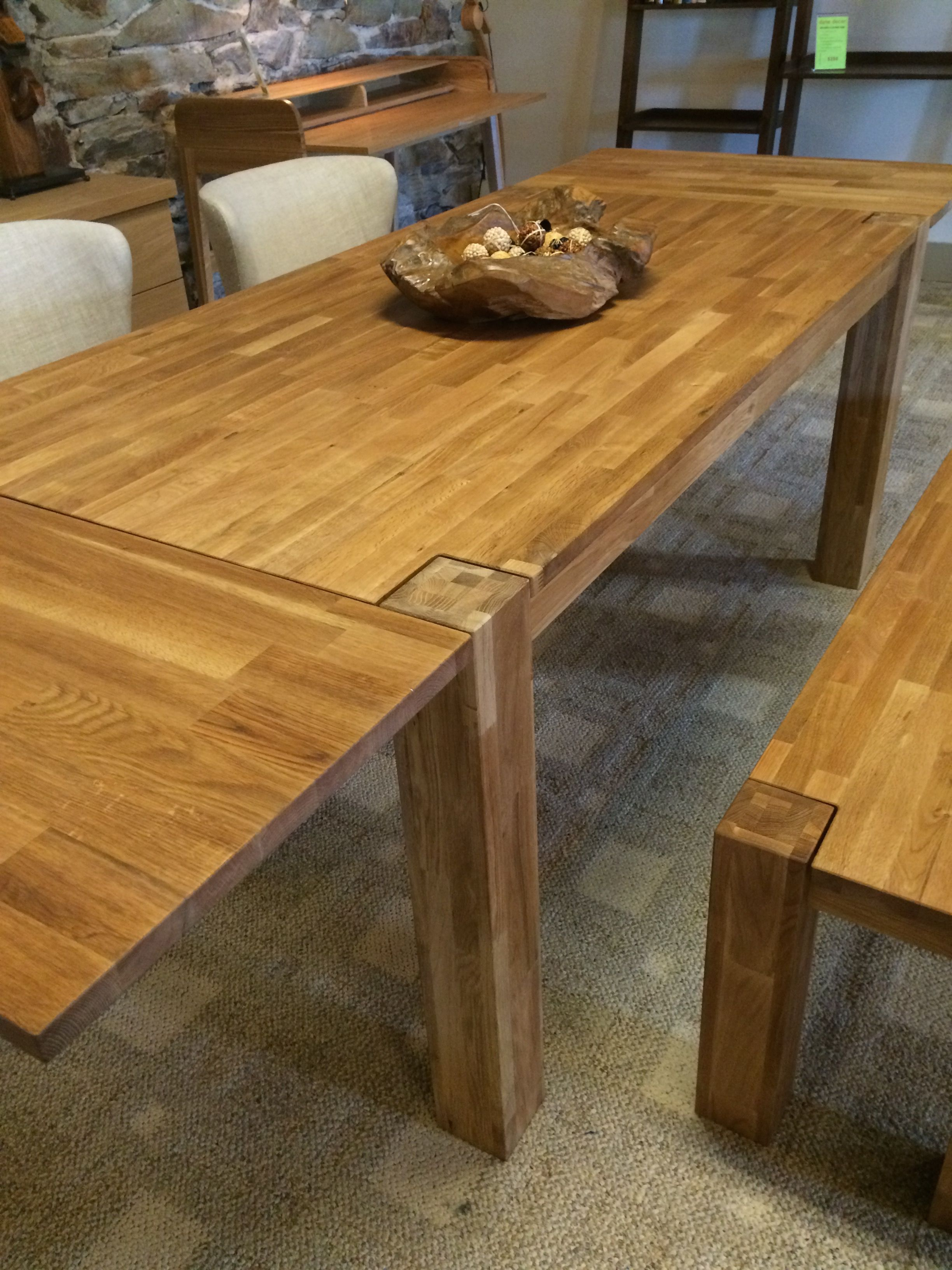 Harvest Wood Dining Table Features A Rustic Farm House Design With Seating From 6 To 10 People Both Leaf Extensions Modern Contemporary