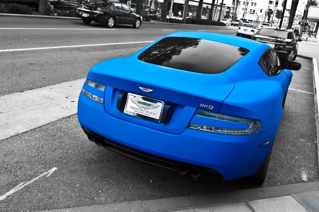 matte blue car Gallery (With images) Vinyl wrap car