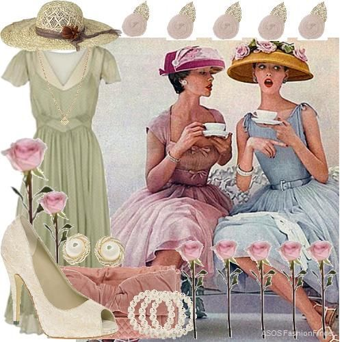 British High Tea Style Dresses