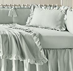 Girls' Nursery Bedding | Restoration Hardware Baby & Child