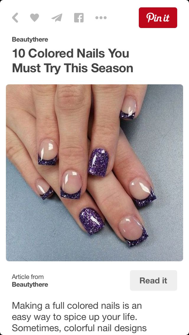 Pin by Kelly Bariteau on Nails | Pinterest | Manicure, Make up and ...