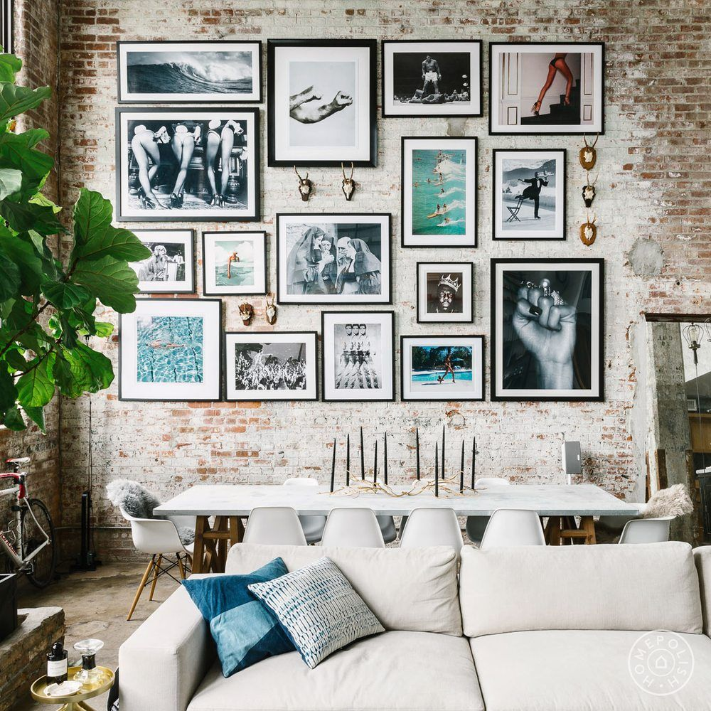 Photo Of Homepolish New York Ny United States Perfect Gallery Wall Home Living Decor