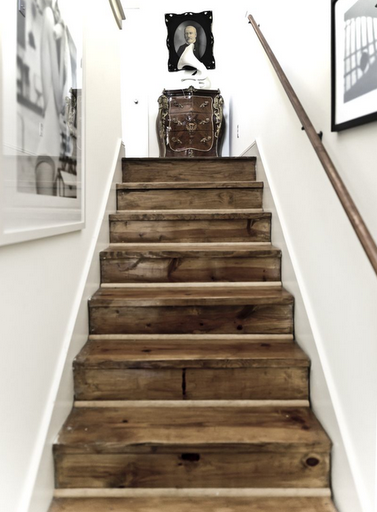 Best Stairs Love These Made From Reclaimed Wood And Will Only 400 x 300