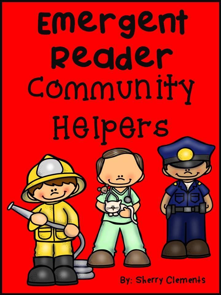 Community Helpers Emergent Reader | Pinterest