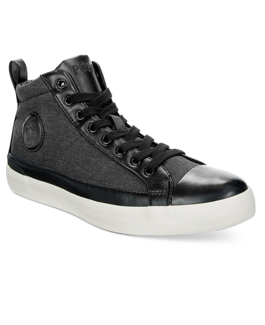 Zapatos Polo Ralph Lauren Hi-Top  96929f3dd8f