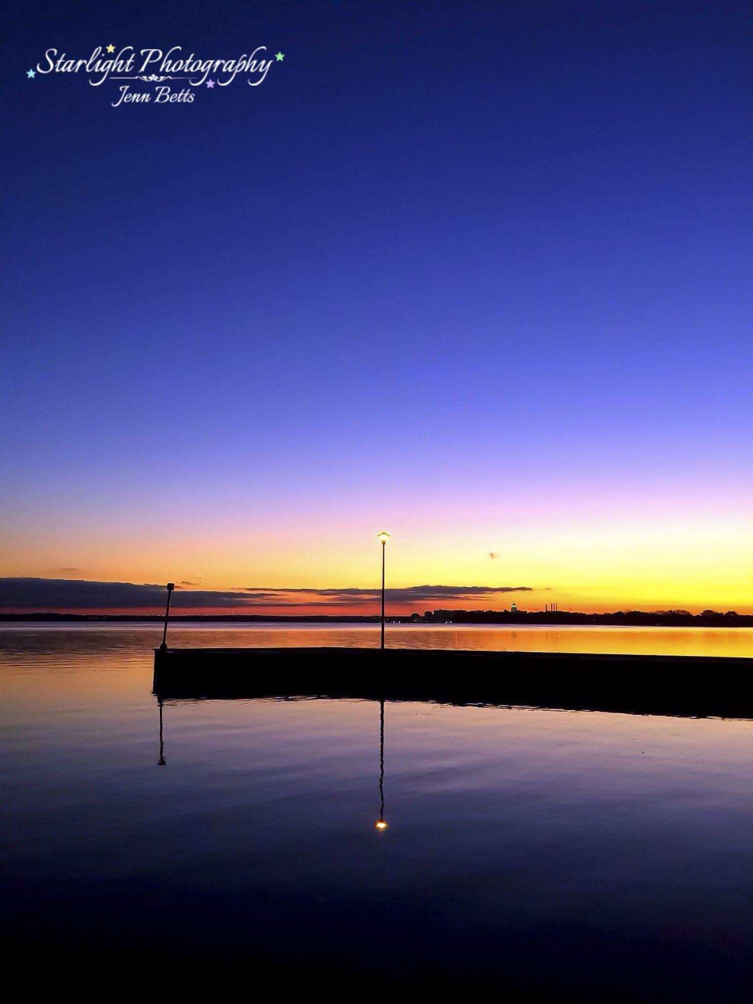 Lake Monona at Sunset - Madison, WI