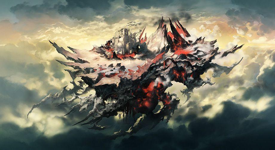 グランブルーファンタジーの雲の世界の画像