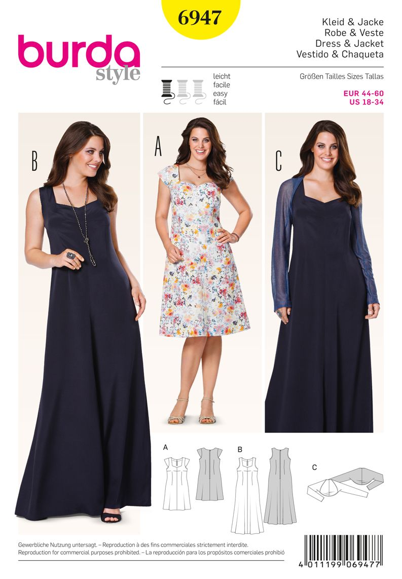 Simplicity Creative Group - Burda Style Plus to size 60} A lot of ...
