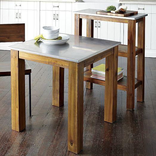 Rustic Kitchen Prep Counter   west elm   Furniture   Rustic ...