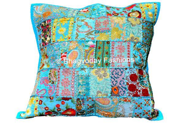 Extra Large Cushion Pillow Cover Sofa Pillow Patchwork Pillow