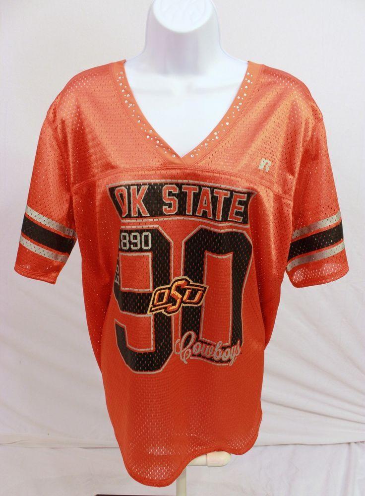 baa07245c53 Oklahoma State University Womens Jersey Osu Sz 3XL 2XL Cowboy Orange  Rhinestones | Clothing, Shoes & Accessories, Women's Clothing, Athletic  Apparel | eBay!