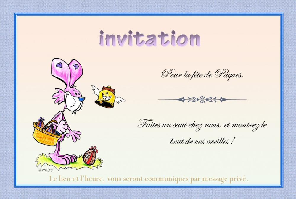 carte virtuelle invitation anniversaire