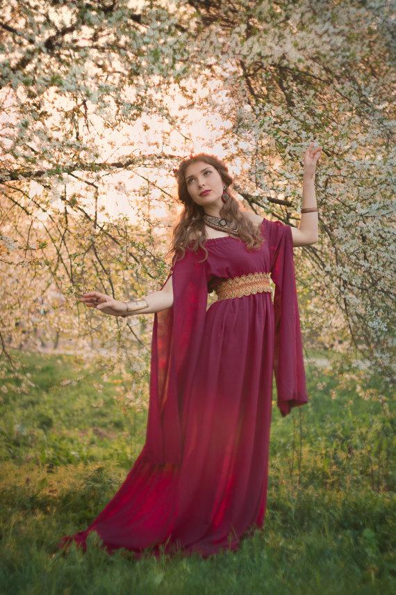 Ancient Greek dress medieval fantasy dress by LuckyLotDress | Not ...