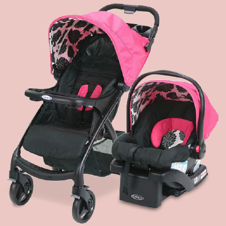 The Graco Verb Click Connect Travel System gives you a