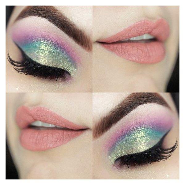 Pin By Moon Light On Polyvore In 2019 Mermaid Makeup Eye Makeup