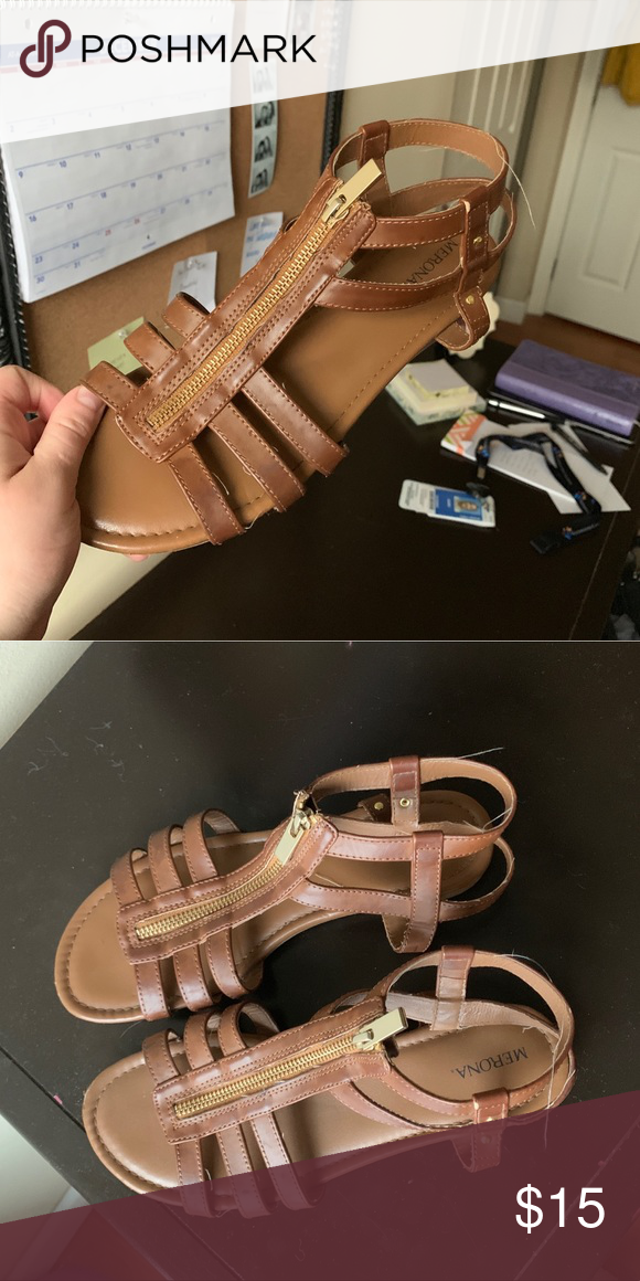 af7df51c48b8 Women s Merona Sandal size 8 Women s Merona Sandal size 8. Brown Merona  Shoes Sandals
