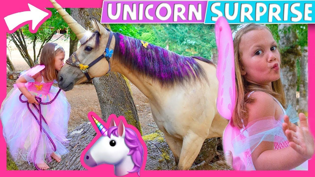 🦄 😍 Goose wanted a Unicorn Birthday party so we surprise her with ...