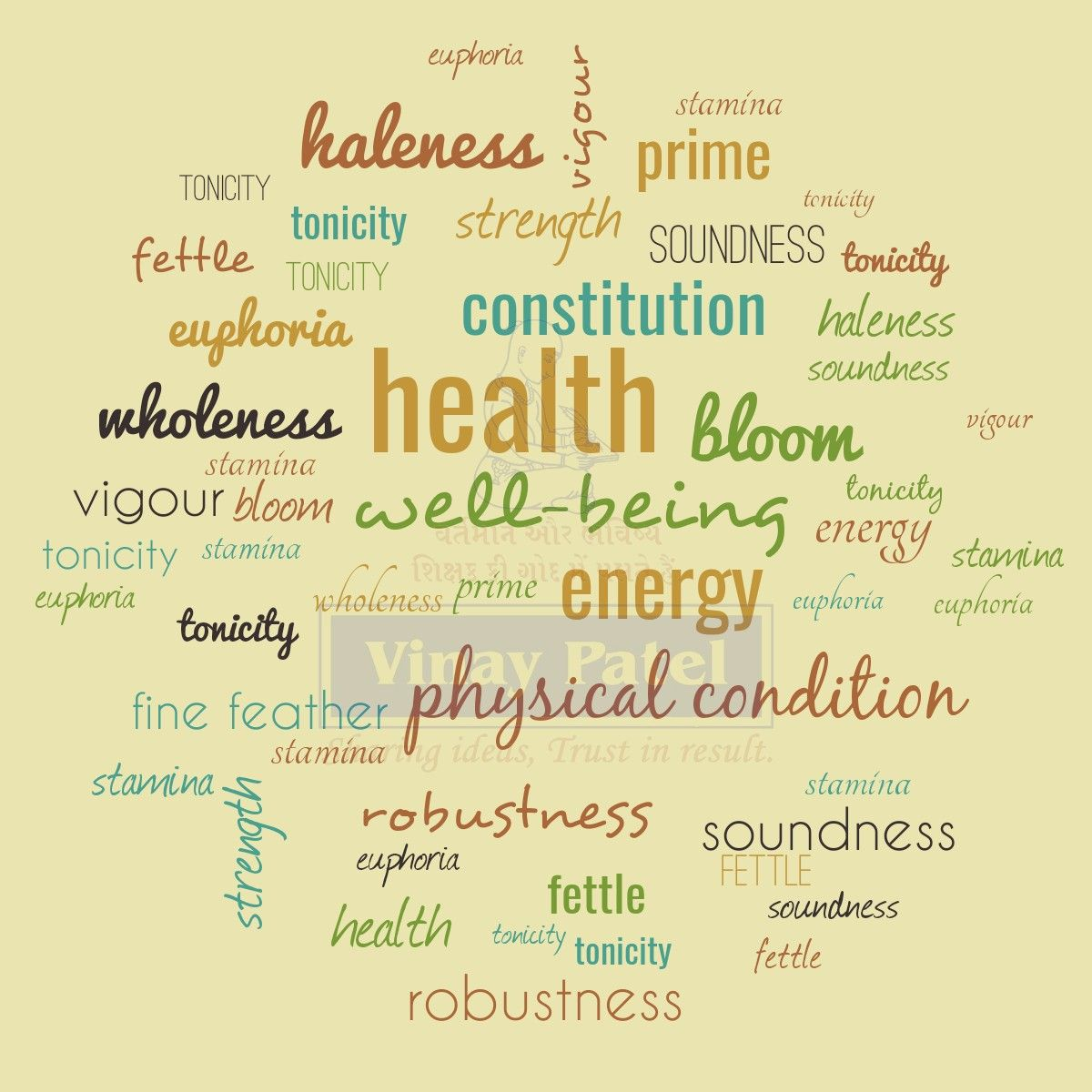 Similar words for 'HEALTH' !⠀ ⠀ WordOfTheDay vocab