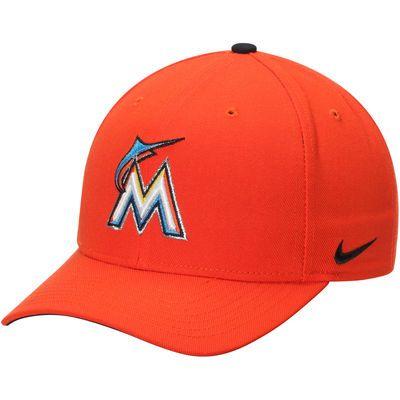 Miami Marlins Nike Wool Classic Adjustable Performance Hat - Orange ... dc62f48c31e9
