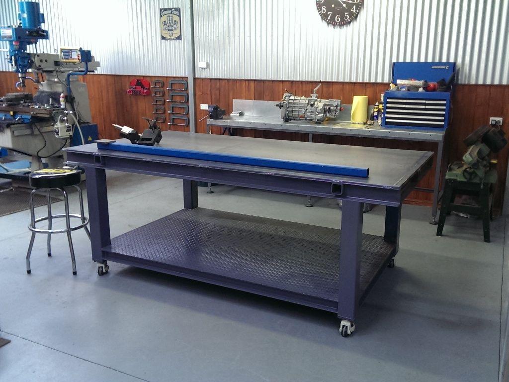 welding table pics ? - the garage journal board | work bench