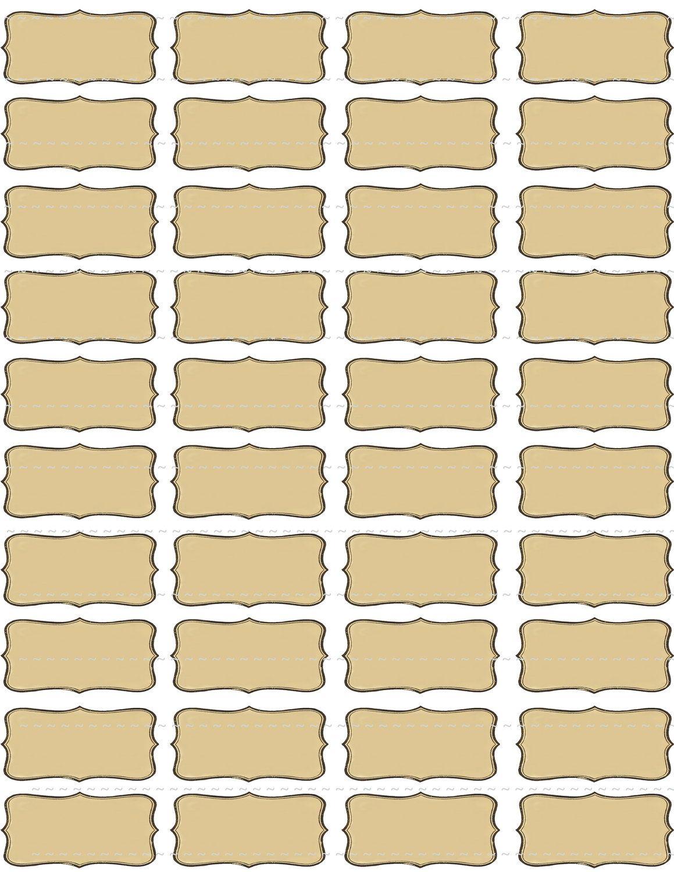 Digital Download Collage Sheet Blank Vintage S
