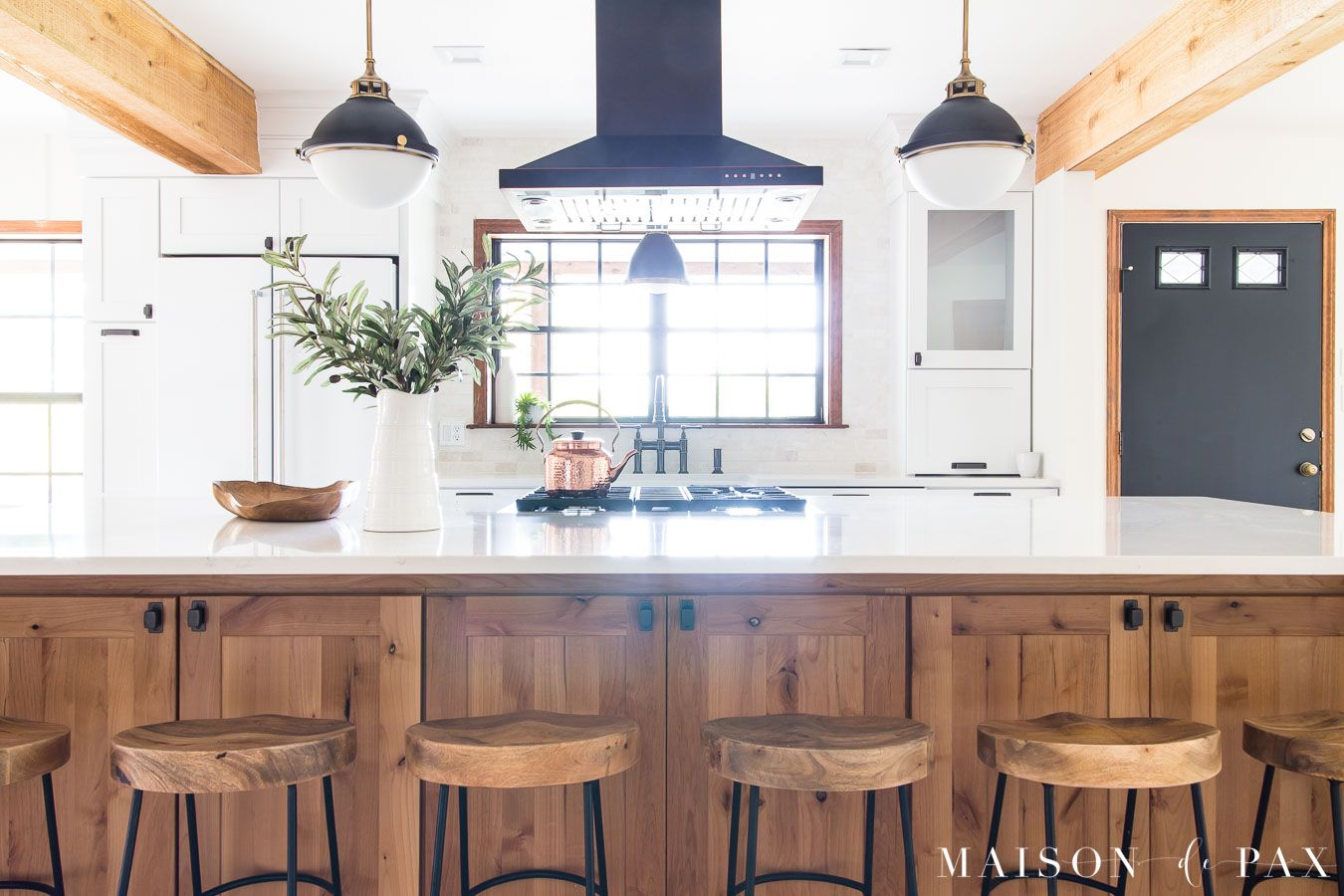 Rustic Modern Kitchen Maison de Pax White