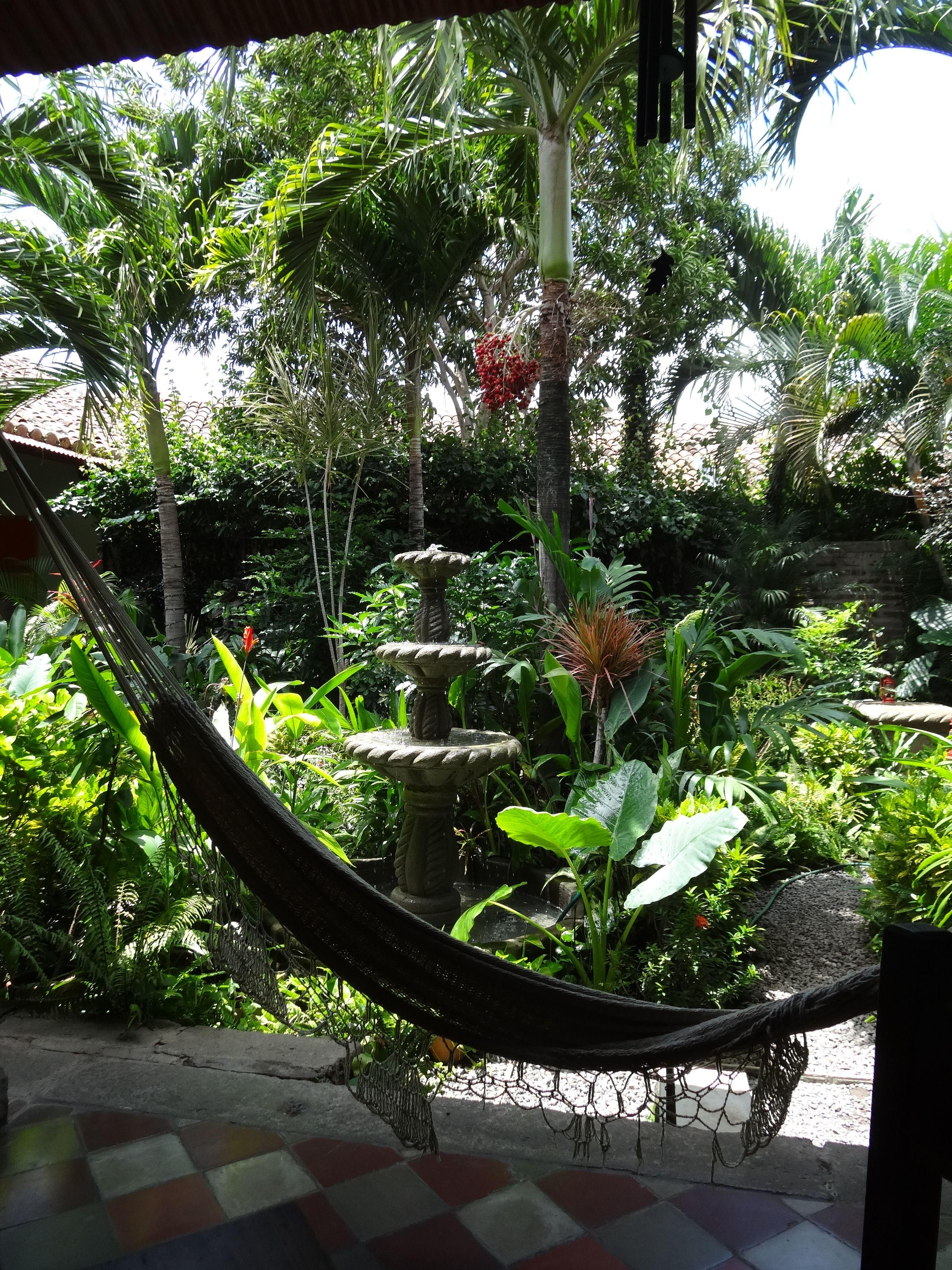 The Garden Cafe Granada Nicaragua Garden cafe, Tropical