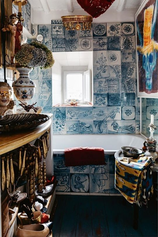 House Tour Italian Interior Designer Olimpia Orsini's Eclectic Home Unique Vogue Interior Design Property