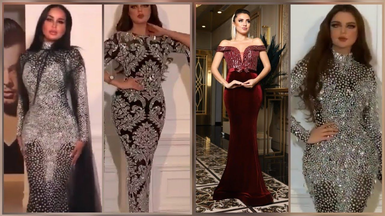 Amazing Night Dresses Collection 2020 فساتين سهرة و سوارية للمناسبات رائعة جدا Youtube Evening Gowns Dresses Formal Dresses Long
