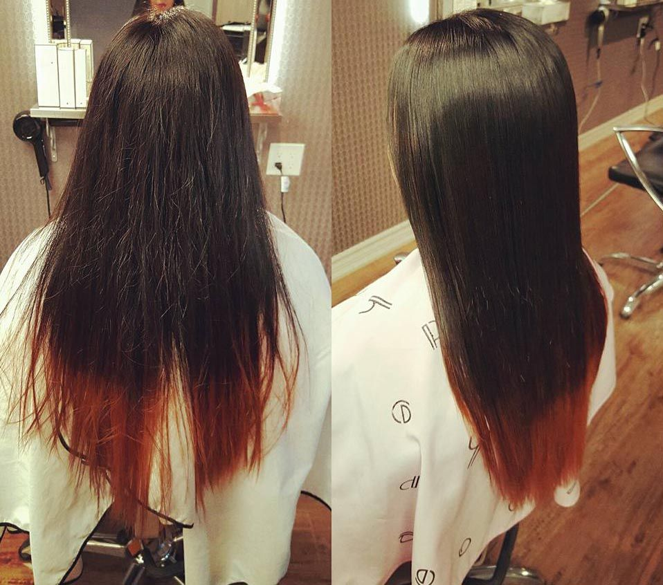 Best japanese straight perm - Sample Pictures Of The Customer Who Had Japanese Hair Straightening Japanese Straight Perm At Momo Hair Salon In Toronto