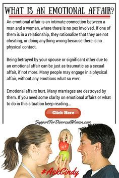 Married Men Who Have Emotional Affairs
