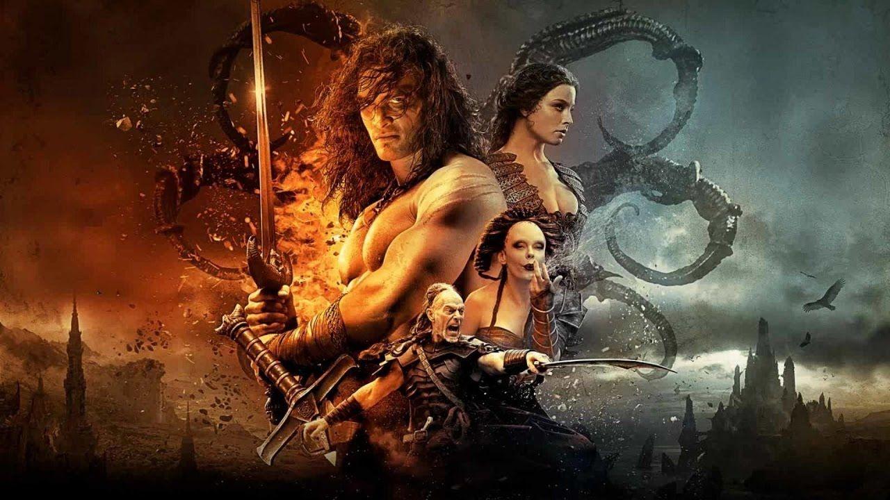 Conan O Barbaro Filme Completo Em Portugues Conan The Barbarian Movie Conan The Barbarian Barbarian Movie