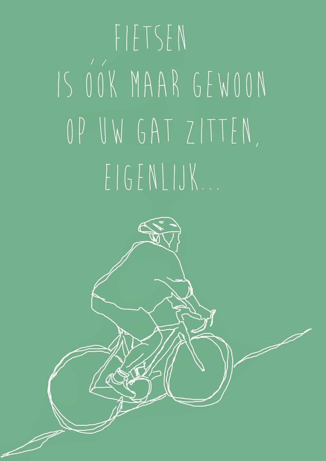 fiets spreuken Pin van Renate Vossen op Spreuken   Fietsen, Fiets en Grappig fiets spreuken