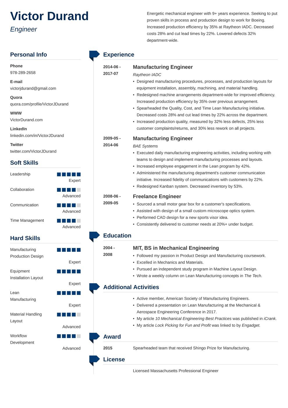 Resume Templates Word Download For Freshers in 2020 Job