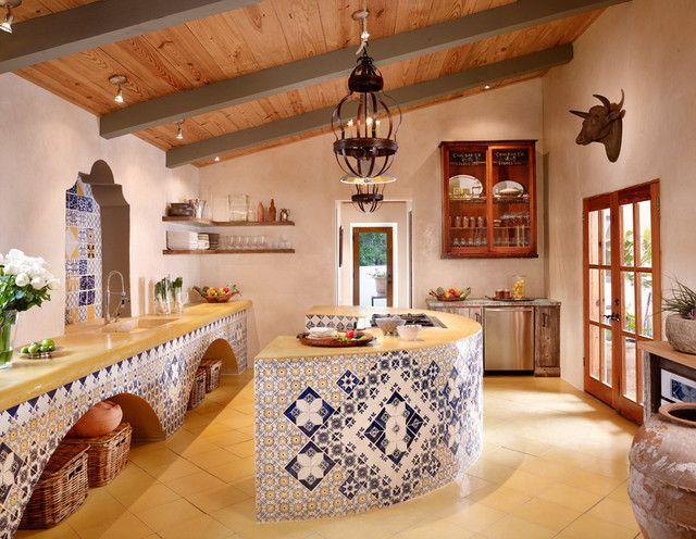 Resultado de imagen para imagenes de cocinas mexicanas for Decoracion de cocinas rusticas mexicanas