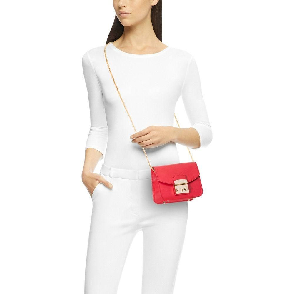 new appearance official shop new cheap Metropolis Mini Crossbody Ruby Bag | Furla, Red shoulder bags ...