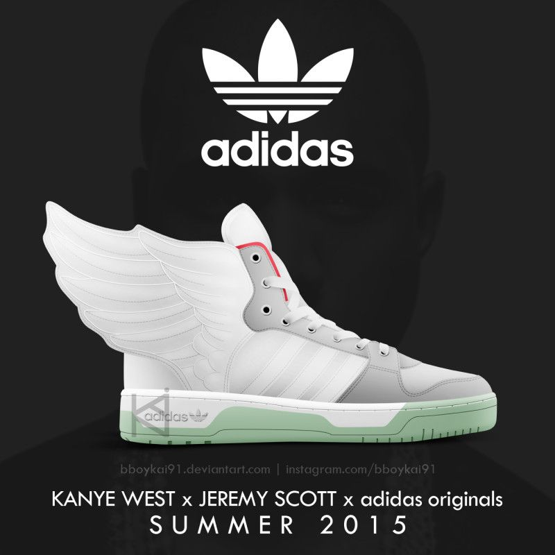 "Kanye West x adidas Originals x Jeremy Scott - ""JS Wings"" 