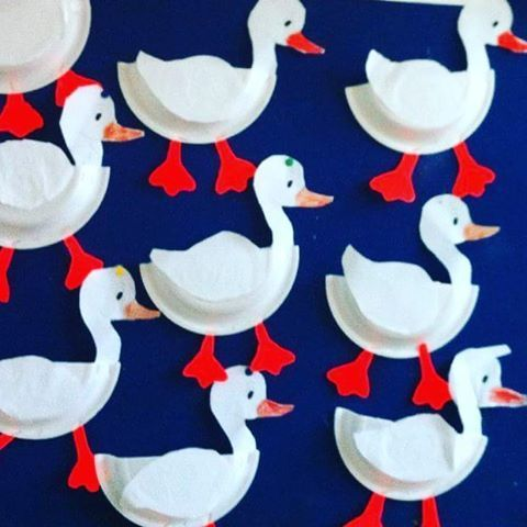 Paper Plate Duck Craft Crafts And Worksheets For Preschooltoddler