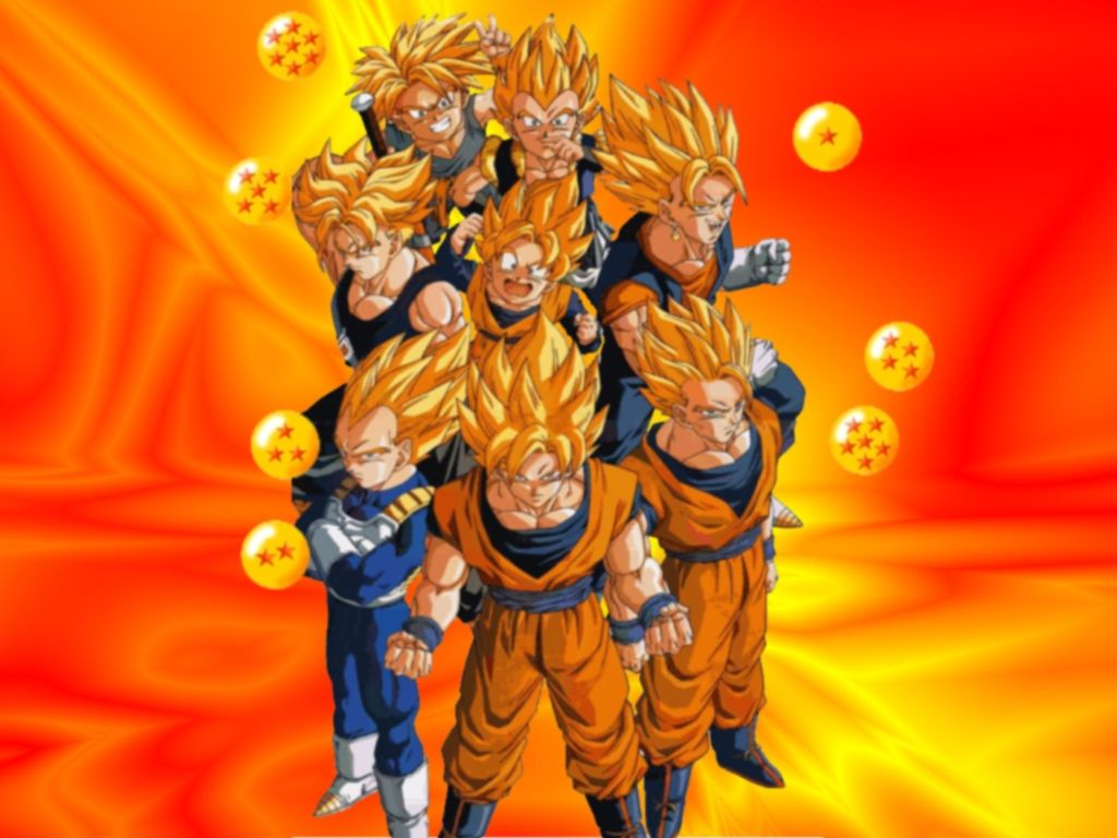 Dragon Ball Z Super Sayans Dragon Ball Z Dragon Ball Z