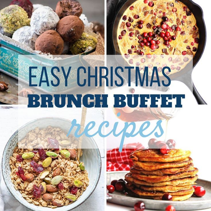 Looking for Christmas brunch recipe ideas to make ahead and feed a crowd? Maybe you're looking for easy buffet ideas for a holiday morning? If you're hosting a holiday party, I've gathered enough recipes to make your Christmas Brunch Buffet a huge success! #ChristmasBrunch, #Christmasbrunchbuffet, #Christmas, #ChristmasBreakfast, #holidays, #holidayrecipes, #breakfast, #casseroles