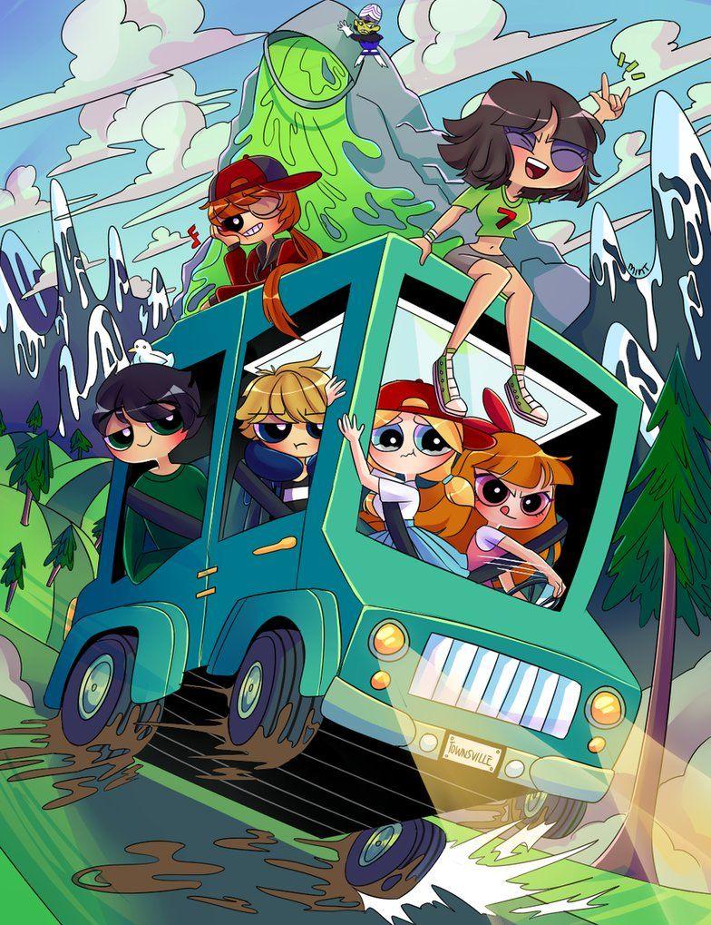 CE ROAD TRIP! by tearmint Superpoderosas, Desenhos