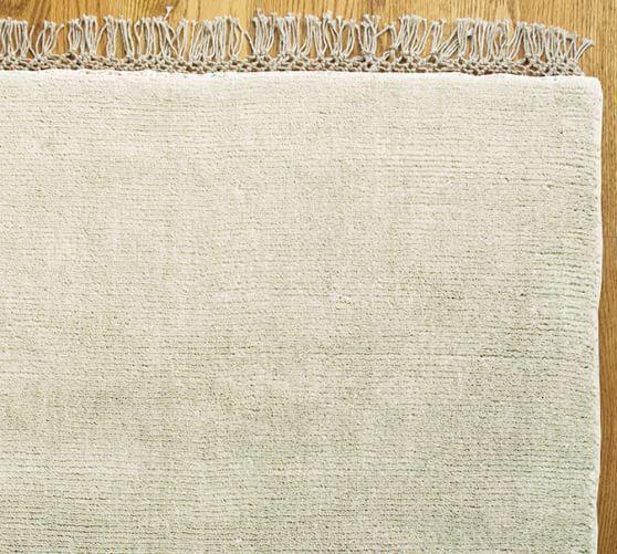 Fringed Hand Loomed Rug Rugs Loom