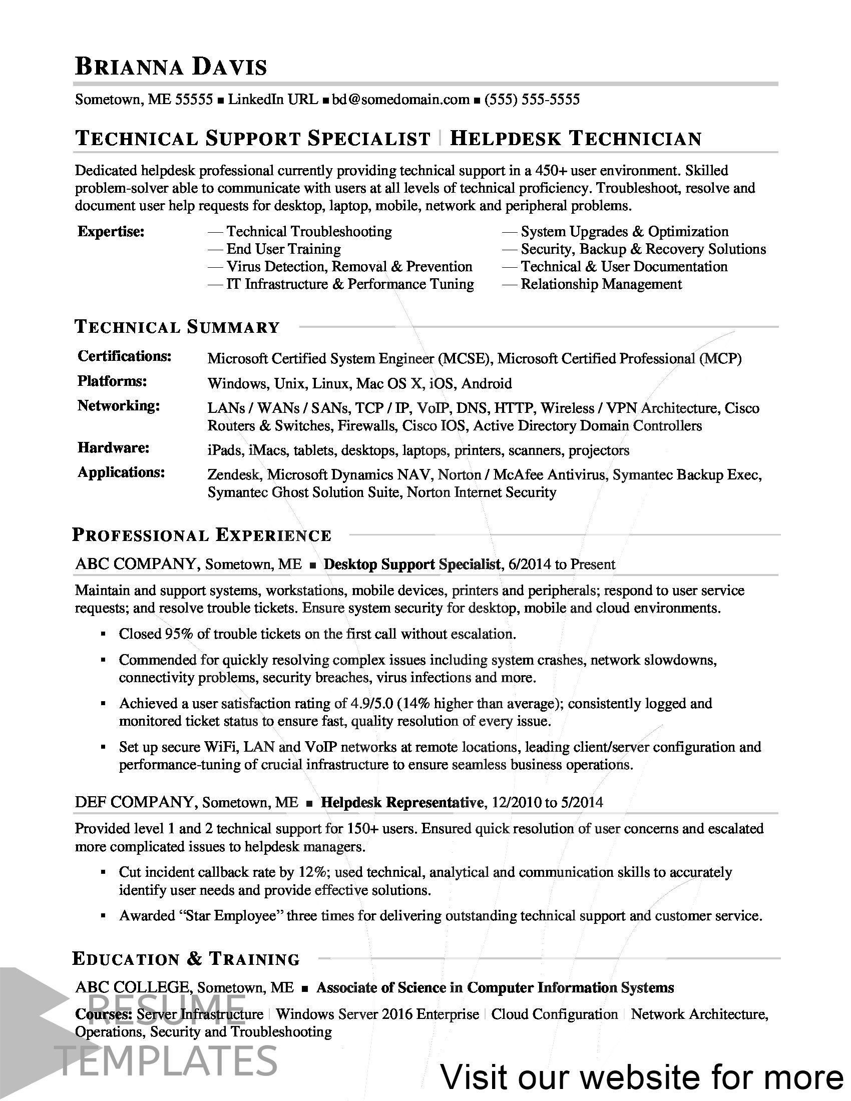 combination resume template free in 2020 Resume examples