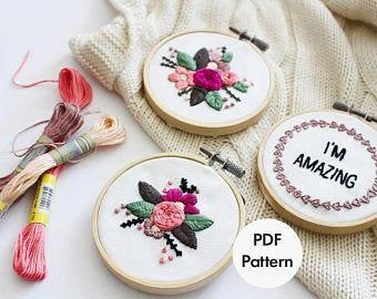 hand embroidery quilt patterns #Handembroiderypatterns