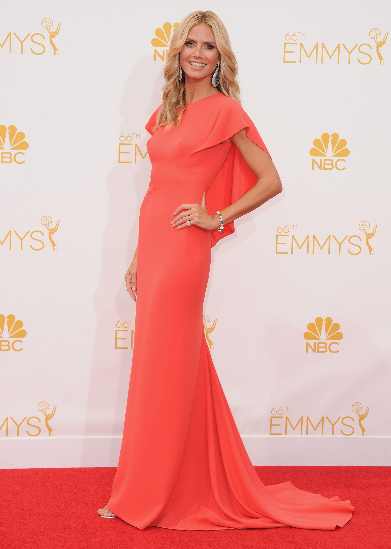 1bdc31d3f81 Heidi Klum in Zac Posen - die schönsten Looks der Emmy Awards 2014 jetzt  auf sistyle.ch