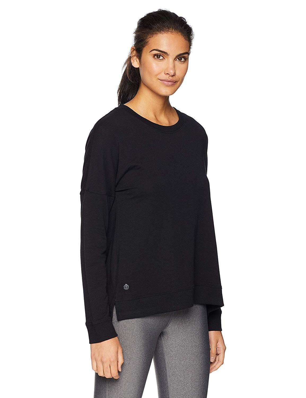 riverwalk Sweatshirt - Black - Black - CA12O2YERDR - Sports & Fitness Clothing, Women, Shirts  #Shir...