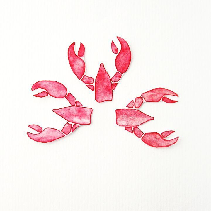 These little lobsters may be from paper but still they mate for life! #etsy #handmade #youaremylobster