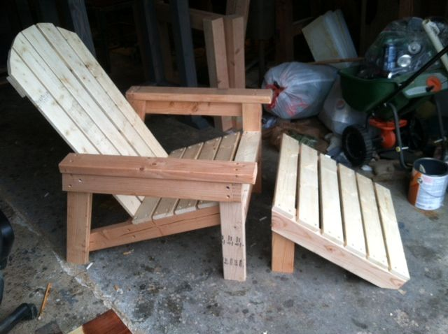 diy adirondack chair plans kids 2x4 easy to build by ana white outdoor